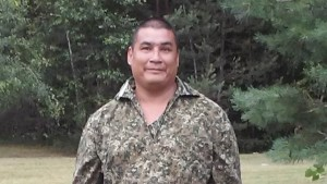 """James """"OJ"""" Pitawanakwat, 44, in Mount Pleasant Michigan. He wants to come home to Canada. Photo courtesy of family."""