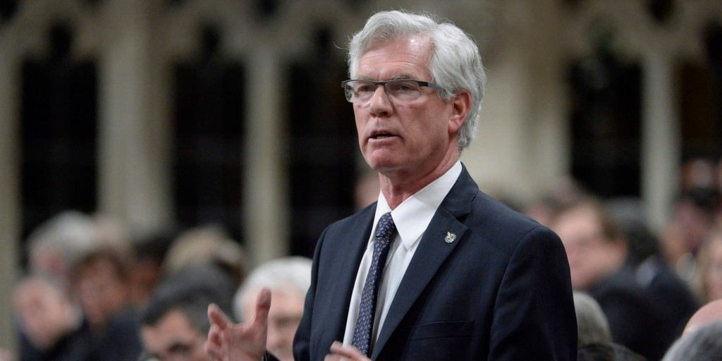 Natural Resources Minister Jim Carr. Photo/ Jim Carr's website