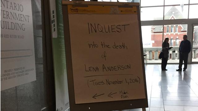 Lena Anderson sign