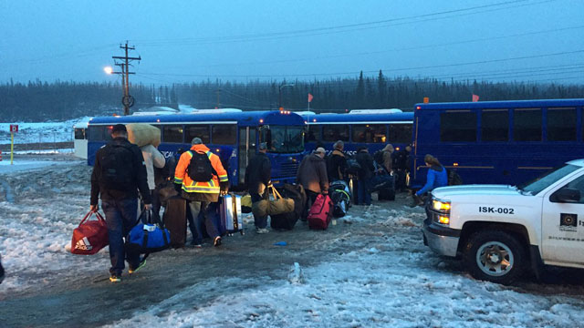 Muskrat Falls workers leaving