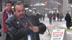 Rolling River First Nation Chief Morris Shannacappo. APTN/File photo