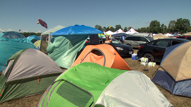 Tents use